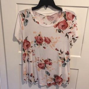 12PM by Mon Ami Floral Tee